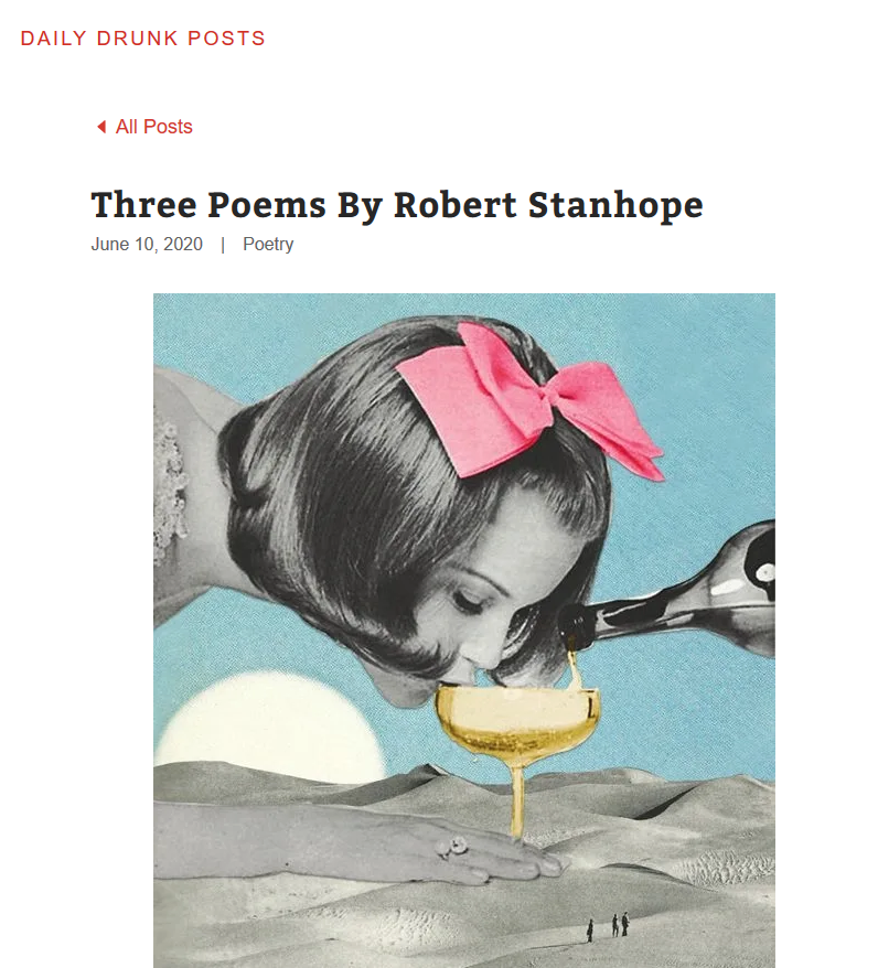 Poems by Robert Stanhope